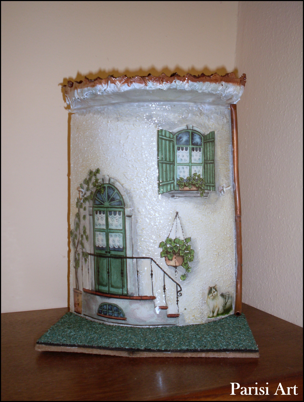 Tegole di primavera parisi art - Tegole decorate ...